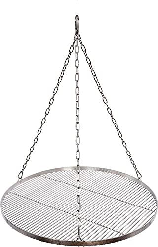 100 cm Grillrost Edelstahl für Schwenkgrill 3 Bein BBQ Grill Rost mit Seil neu
