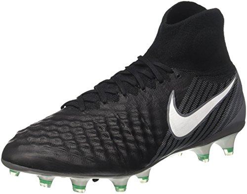 Nike Magista Obra Ii Fg, Botas de Fútbol para Hombre, Negro (Black/White/Dark...