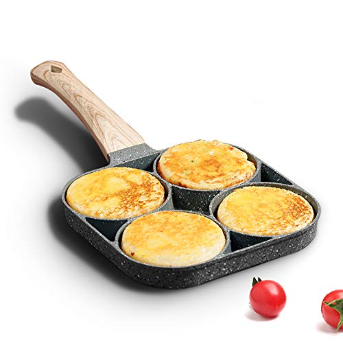 MIUGO four-cup egg pan, medical stone non-stick...