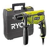 Ryobi 5133002018 Taladro de percusin cable elctrico 800 W portabrocas sin llave