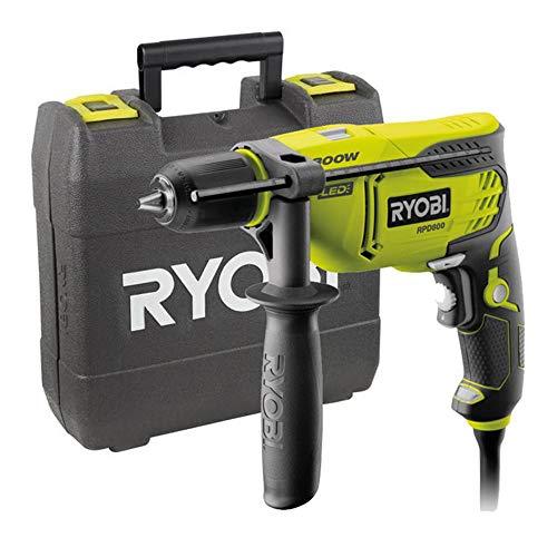 Ryobi 5133002018 Taladro de percusión cable eléctrico 800