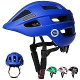 XJD Fahrradhelm Kinder Kinderhelm für Laufrad Fahrrad Roller Skateboard Helm für Baby Kleinkind 2-7 Alt(Blau, S)