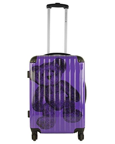 Lulu Castagnette-Maleta rígida, 61 cm, diseño de Lulu morado 61