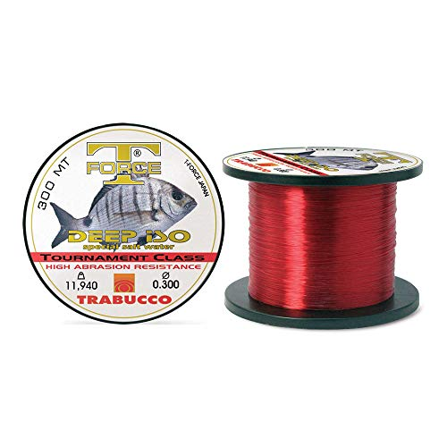Trabucco - Hilo sedal para Pesca t Force Tournament Class 0,3 11,94 300 MTS