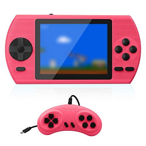 Console di gioco portatile ETPARK, console di gioco retrò con 500 giochi classici Schermo LCD da 3,5 pollici, console retrò supporta connessione TV e 2 giocatori, miglior regalo per bambini e adulti