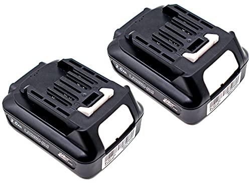 FengWings® 2 X BL1021B BL1020B BL1015 BL1016 12V 2.0A battery Replace For Makita CXT DF031D DF0331D TD110D JR103D JR105D HSS01D HP332DZ MP100D DCM501 CF101DZ HSS01D DCM501 CG100D DA332D TM30D