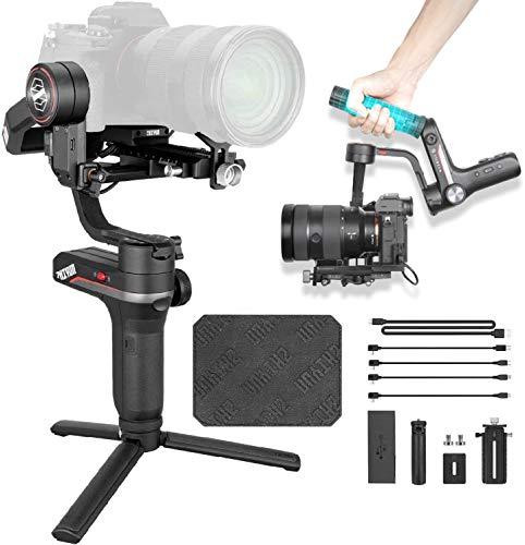 Zhiyun Weebill S Gimbal Reflex Stabilisateur Gimbal 3 axes Compatible, Sony, Nikon et Panosonic