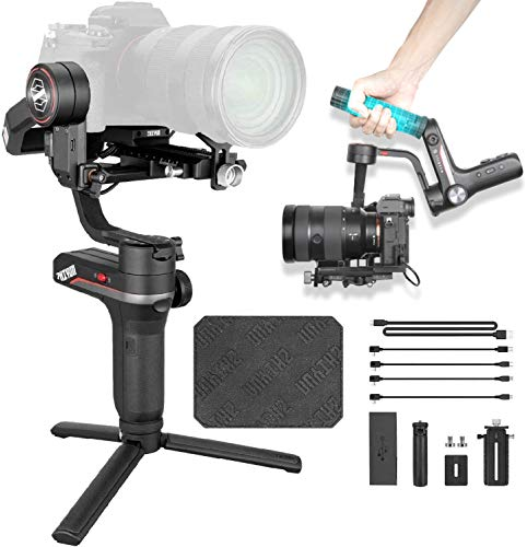 Zhiyun Weebill S Gimbal Reflex, Gimbal Estabilizador 3 Ejes para Cámara Compatible para Canon, Sony, Nikon y Panosonic