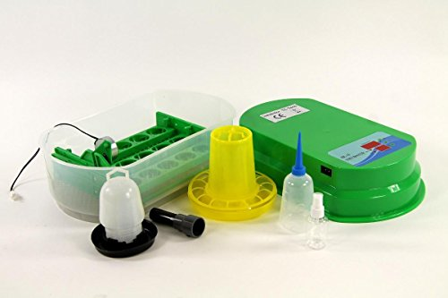Inkubator VOLLAUTOMATISCH BK15Pro + Zubehör, 15 Eier, Brutautomat, Brutmaschine - 2