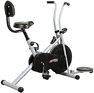 Healthex HX100 Exercise Gym Cycle 1001 with Back Support and Twister    for Home Use