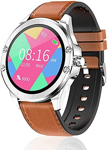 Reloj inteligente y vigilancia a pantalla completa a color IP68 impermeable multifuncional reloj deportivo-E
