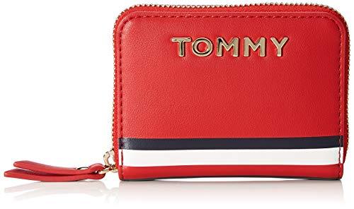 Tommy Hilfiger Damen Gp Th Sml Za Mascot Geldbörse, Mehrfarbig (Corporate), 2.5x8.5x11 centimeters