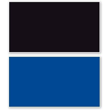 Amtra Deko Fotorückwand Schwarz Blau Beidseitig 150x60cm 2in1 Rückwandposter Rückwand Folie Aquarien Poster Foto Folien Haustier