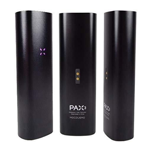 PAX 3 - Premium Tragbare Vaporizer - für Blätter & Extrakte - 10 Jahre Herstellergarantie - Neue Farbe - Complete Kit - Matt Schwarz *Nikotinfrei*