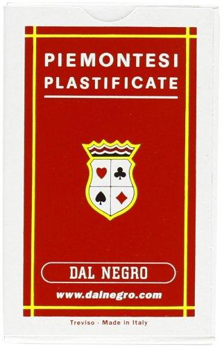 Dal Negro 10012 - Piemontesi Carte da Gioco Regionali, Astuccio Rosso