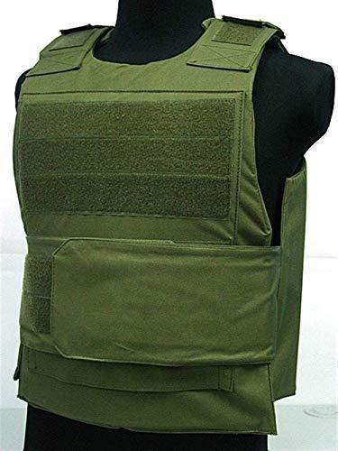 Coole atletiek CB kogelvrije vest en tactische vest boscamouflage jacht vest training hjm zhanshubeixin (Color : Army Green)