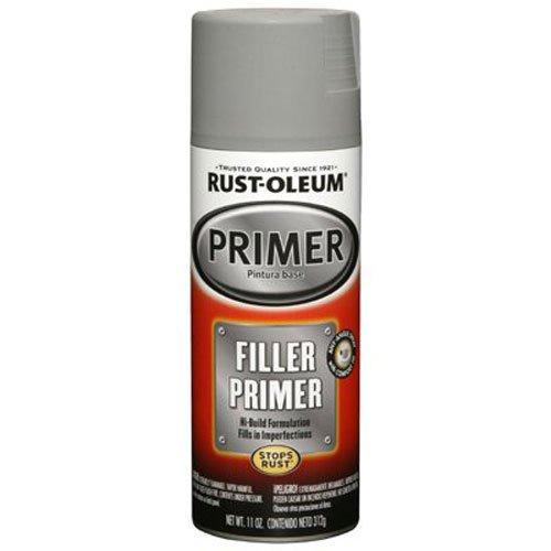 Rust-Oleum, Gray, GrayRust-Oleum 249279 Automotive Filler Primer Spray Paint, 11 oz, 11-Ounce