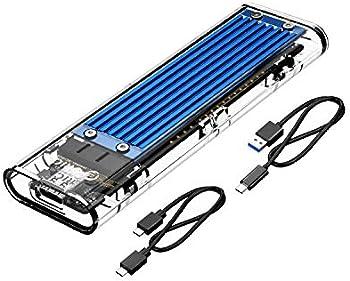ORICO TCM2-C3 M.2 NVME PCI-Ex4 M-Key SSD USB-C Aluminum Enclosure