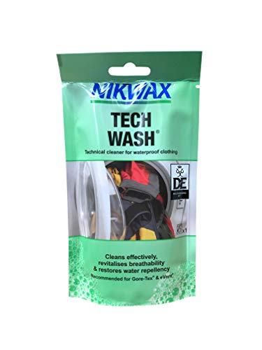 Nikwax Tech Wash wasmiddel voor functionele kleding, 100 ml