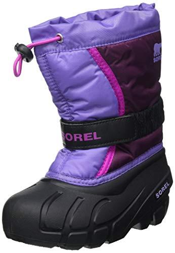 Sorel Unisex-Kinder-Winterstiefel, CHILDRENS FLURRY, Lila (Purple Dahlia, Paisley Purple), Größe: 31