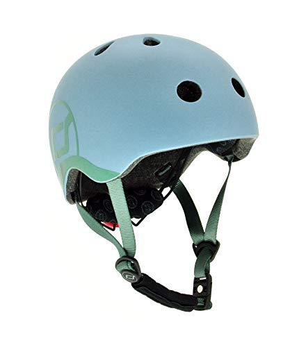 Scoot and Ride Helmet XXS (Steel) 45 bis 51 cm