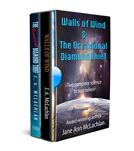 Walls of Wind and The Occasional Diamond Thief: A Box-Set of Two Complete Science Fiction Novels (English Edition)