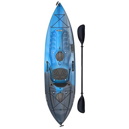Lifetime Tamarack Angler 100 Fishing Kayak (Tamarack Angler with Paddle (Blue))