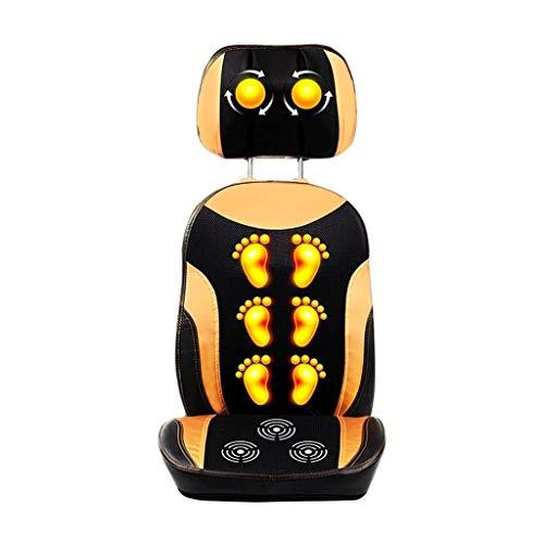 XXCC Multifunctionele elektrische massagestoelen, elektrisch massagekussen, startskant, taille, kneden, massagepads voor ouders, lichaamsmassage, deken, hals verwarming, massagepads
