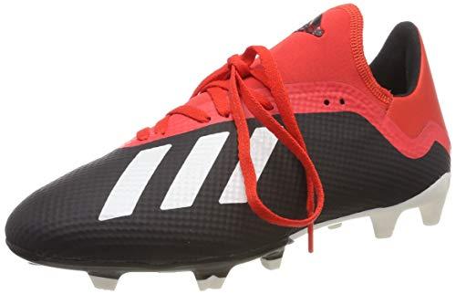 adidas Herren X 18.3 FG Fußballschuhe, Mehrfarbig (Core Black/Off White/Grey Four F17 Bb9366), 42 2/3 EU