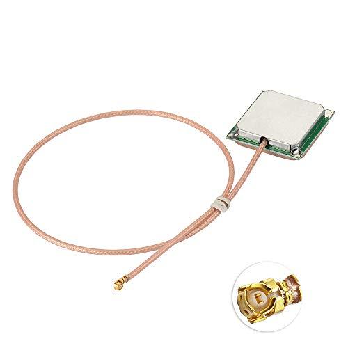 Eightwood externe actieve keramische antenne GPS-antenne met 30 cm IPX-kabel (1,37 mm) U.FL-aansluiting compatibel met de NEO-6M GPS-module MEHRWEG