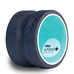 "RELIEVES STRAIN TO MUSCLES AND LIGAMENTS: The 6"" Deep Tissue Plexus Chirp Wheel+ wheels helps stretch and massage the thoracic and lumbar region muscles improving strength, flexibility, and balance. This has a powerful preventative effect that reduce..."
