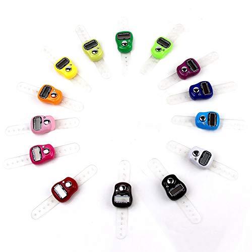 Nützliche elektronische Reihenzähler-Finger-Ring Digit Marker LCD Tally Zähler Kakiyi