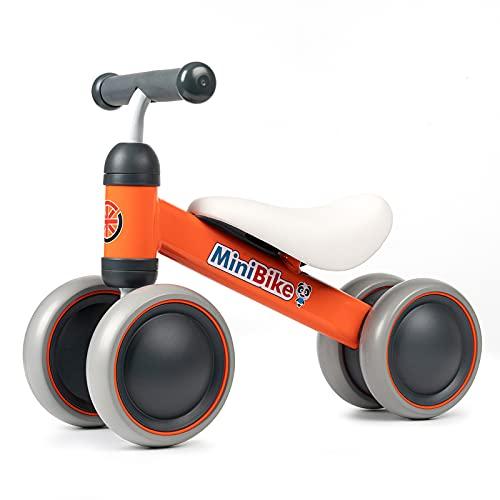 XIAPIA Bicicleta sin Pedales para Niños Bici sin Pedales Bicicleta Bebe 1 Año Triciclos Bicicleta Equilibrio Infantil Triciclos sin Pedales de Regalo Favorito del Niño