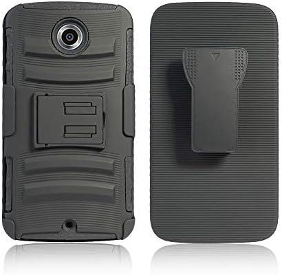 Cocomii Striped Belt Clip Holster Motorola Nexus 6 Nexus X Case Slim Thin Matte Kickstand Swivel product image