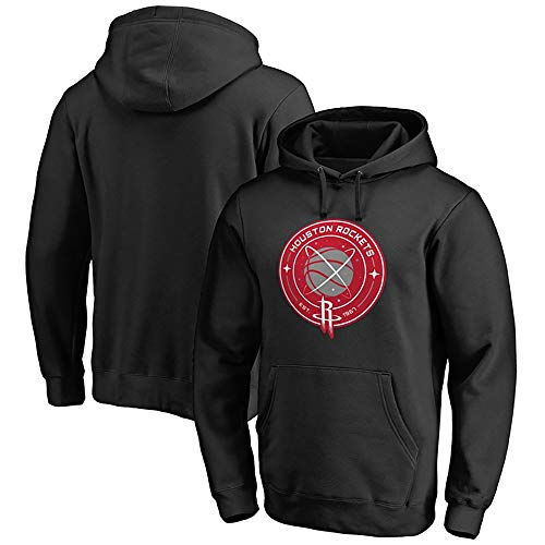 YYF Sweatshirt Rockets Männer lose beiläufige Sweatshirt Basketball League Harden/Paul Hoodie (Color : B, Größe : XXL)