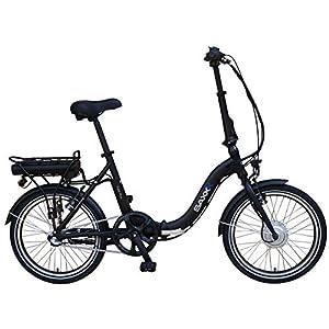 SAXXX Foldi Plus Faltrad Klapprad E-Bike Pedelec Vorderradmotor 7,8Ah 250W 36V Lithium-Ionen Akku Shimano 3Gang Nabenschaltung mit Rücktritt