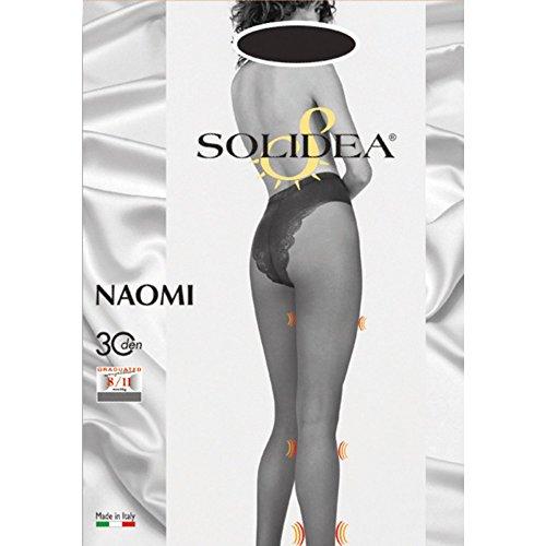 Naomi solidea 30 panty kleur donkerblauw grootte 3-Ml