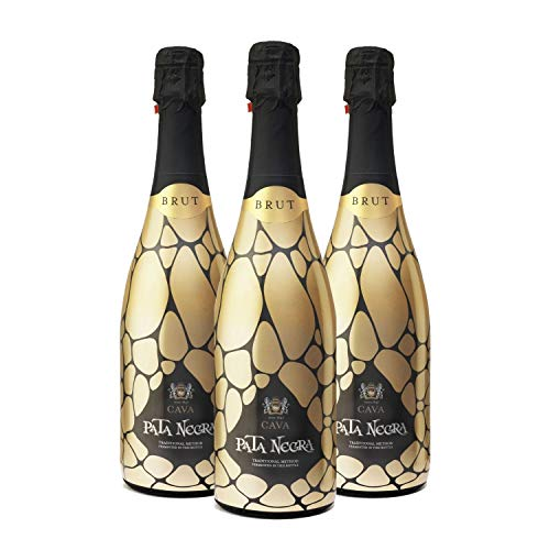 Pata Negra Cava Brut - Pack de 3 Botellas x 750 ml