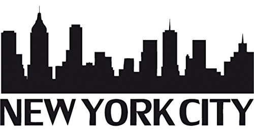Kdomania Stickers Autocollant New York City