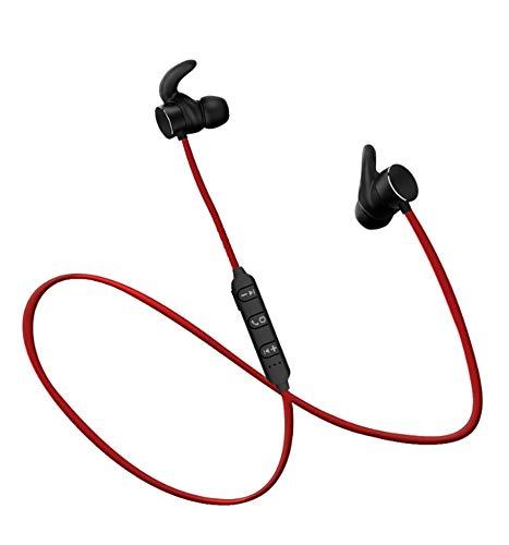 YYZLG - Auriculares deportivos magnéticos Bluetooth 4.2 resistentes al agua estéreo inalámbricos supraurales