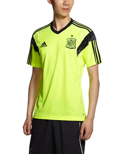 adidas Camiseta Entrenamiento España 2014 Electricity-Negra Talla M