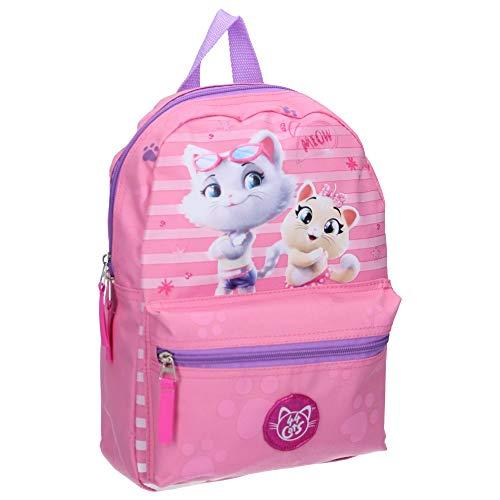 44 Cats Kinderrucksack - Milady und Pilou - Rosa