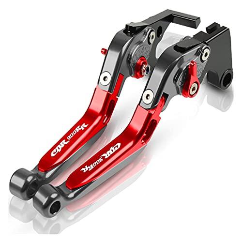 Embrague Palancas para HO┐NDA CBR 900 RR CBR900RR Motocicleta CNC Ajustable Extensible Plegable Palanca De Embrague Freno Palanca Freno Cubrepuños Pit Bike (Color : D)