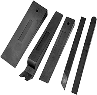 TSafe Professional Wedge Set- Large Wedge, Combination Wedge/Pry Tool, Standard Wedge, 2 Shims- Non-Marring Commercial Grade
