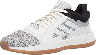 adidas Men's Marquee Boost Low, Off White/White/Black, 12.5 M US