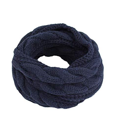 ManMan Womens oneindigheid sjaal dikke winter warme cirkel lus