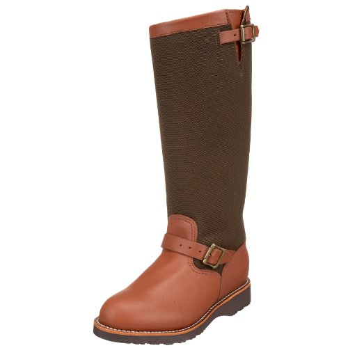 "Chippewa Men's 17"" Pull On 23913 Snake Boot,BrownEsspresso,10 D US"