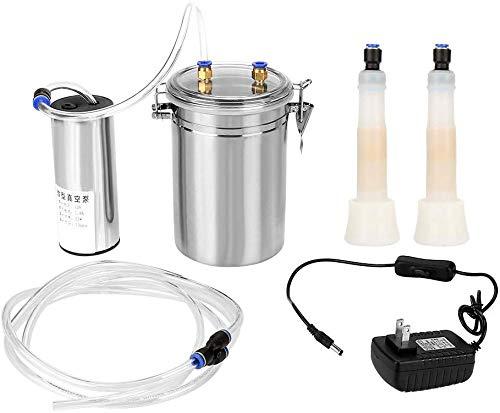 GXLX Tragbare Elektrische Melkmaschine Ziege Kuh Melkmaschine Impuls Ziege Schaf Melker Milchpumpe für Zuhause Kühen,for Cattle