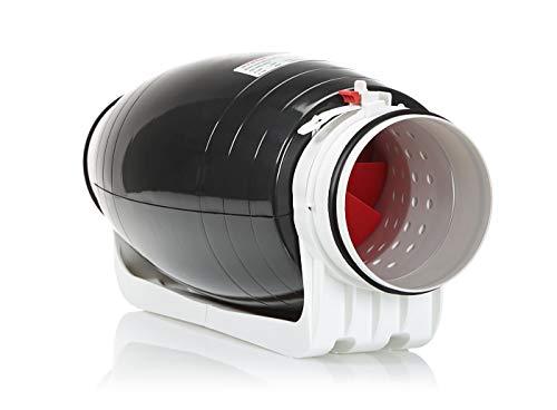 STERR – Extractor en línea con ventilador de conductos silenciosos 100-125 mm – DFA100-125-SILENT