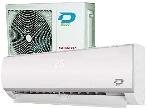 FROZEN R32 12000 BTU DILOC Klimaanlage Mono-Splitter, Energieklasse A++/A++ Smart-WiFi-Funktion